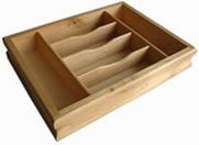 varnish finish solid wood collecting tray
